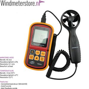 42001 Benetec GM8901 windmeter anemometer