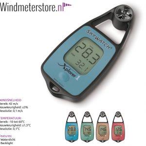 JDC Xplorer 1 windmeter anemometer