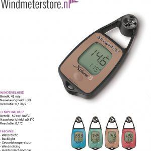 JDC Xplorer 3 windmeter anemometer
