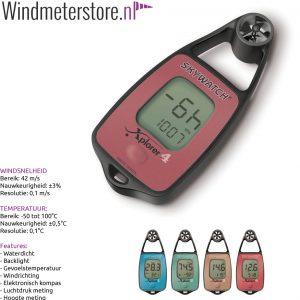 JDC Xplorer 4 windmeter anemometer